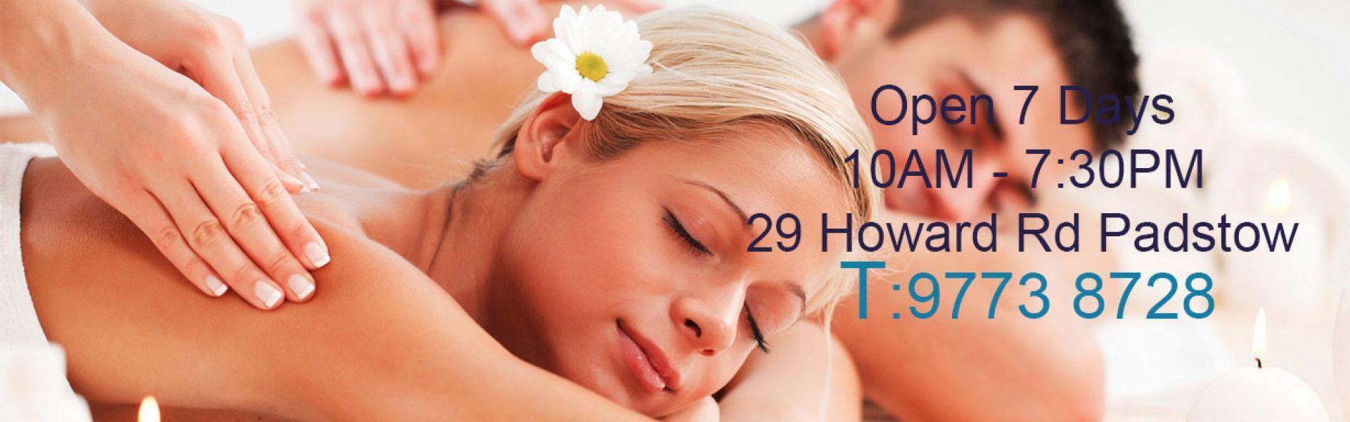 Padstow Massage, Professional Massage Padstow